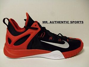 reputable site eb5df 85206 ... sweden image is loading nike zoom hyperrev 2015 size 13 black red 7c6bf  8cfc2