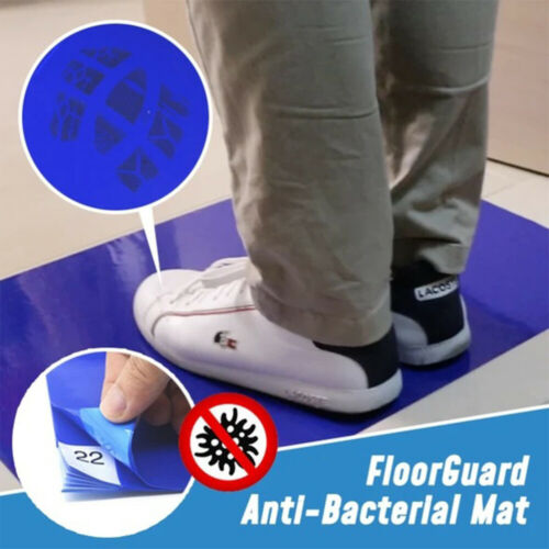 30Pcs Peel-Off Floors Guard Shoes Bottom Dirt Removal Room Entrance Sticky Mats