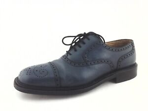 good looking best online official photos Details about BALLY SCRIBE Oxfords Teal Bogara 18 Brogues Shoes Womens US  10.5 EU 41 $450