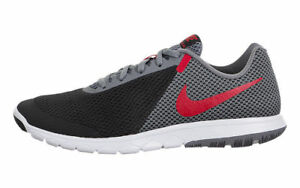 6b9c17693ea7b Nike Flex Experience RN 6 Black Grey Red White 881802-011 Men s ...