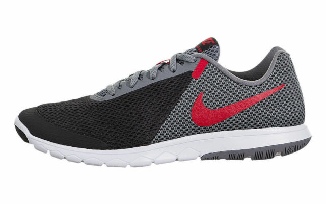 save off 4d655 7bd54 Nike Flex Experience RN 6 Black Grey Red White 881802-011 Men's Running  Shoes