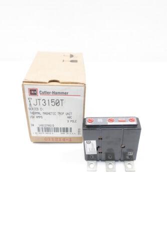 Cutler Hammer JT3150T Circuit Breaker Trip Unit 3p 150a