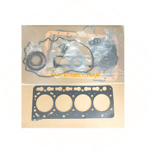 Engine Gasket set Head Gasket Vavle Seal for Kubota V3300-EI V3300-TE 12valves