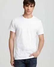 2 Calvin Klein T-shirts Slim Fit Crew Neck White Size Large NB1176
