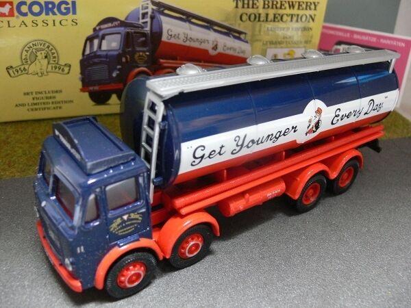 1 50 Corgi Leyland Tanker Set YOUNGERS Brewery GB 24301