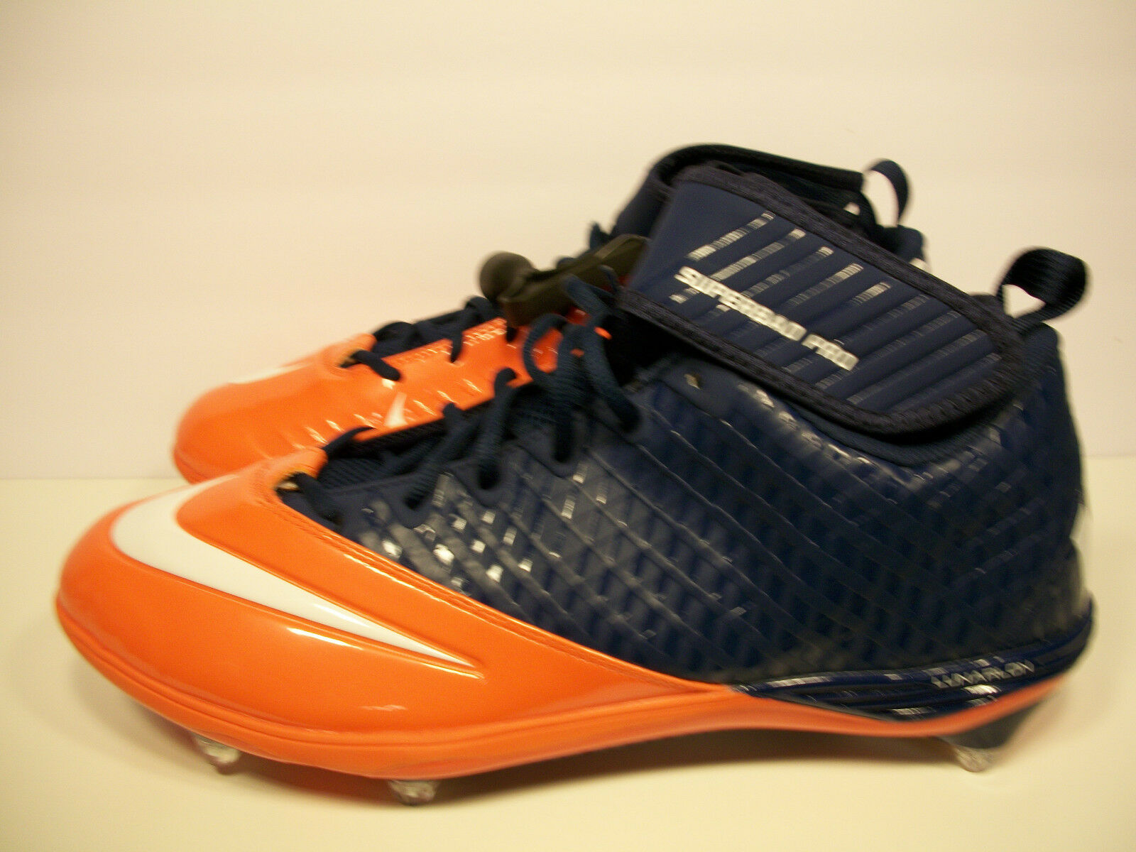 Nike superbad orange pro lunarlon fußball stollen orange superbad / Blau 544762-406 größe. 1f7aa1