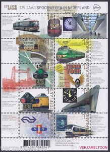 NVPH-V-3219-3228-175-JAAR-SPOORWEGEN-IN-NEDERLAND-2014-vel-postfris