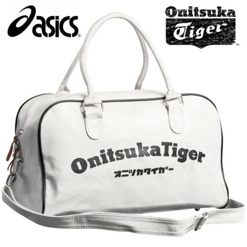 Asics Onitsuka Tiger Sports Rétro Classique Duffle Sacs Blanc Gym Holdall