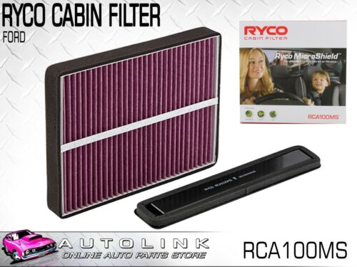 RYCO CABIN FILTER FOR FORD BA BF FG FALCON XR6 4.0L 6CYL /& XR8 5.4L BOSS-260 V8