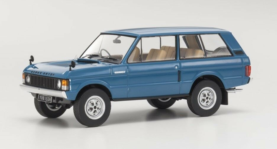 AL410101 ALMOST REAL 1 43 Land Rover Range Rover Rover Rover 1970 Tuscan bluee model cars bab3c7