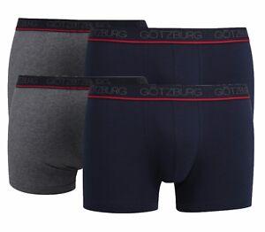 De-4-Lot-Gotzburg-Homme-Slips-Pantalon-Hipster-742536