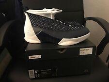 Nike Air Jordan 15 Retro Obsidian QS Size 9.5