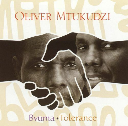 BVUMA TOLERANCE  Oliver Mtukudzi and The Black Spirits CD Tuku Music 2001 LN
