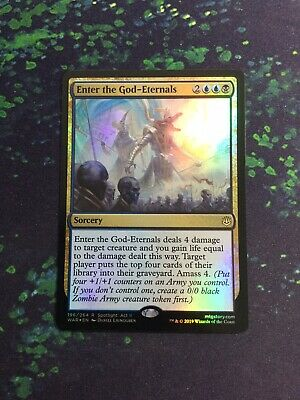 Sorcery Unc 4 x ENTER THE UNKNOWN NM mtg Rivals of Ixalan Green