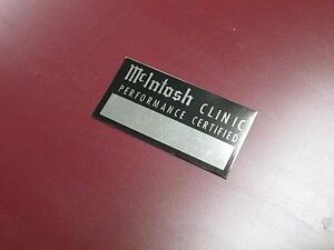 McIntosh-Tube-Amplifier-preamp-034-CLINIC-CERTIFIED-034-Repair-WRITEABLE-DECAL-NEW