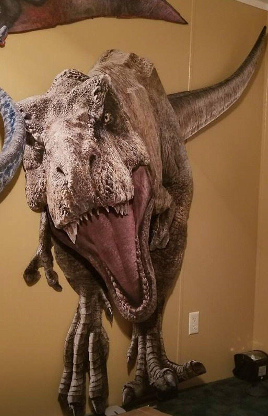 Jurassic Jurassic Jurassic World Fallen Kingdom T-REX 3D Display 14f240