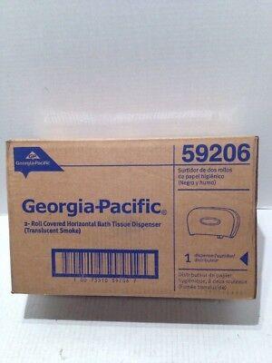 Georgia-Pacific Bathroom Tissue Dispenser Dbl Roll Translucent SKE 59206