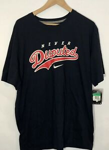 Nike-Never-Disputed-Men-039-s-T-Shirt-Size-XL-New-With-Tags