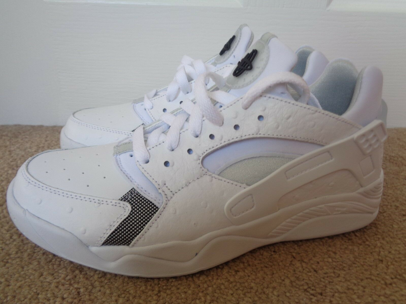 reputable site 33208 57aad ... Nike Air Flight Huarache Low Low Low mens trainers sneakers shoes  819847 100 NEW+BOX ...