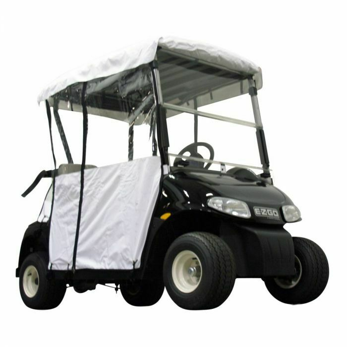 EZGO 08-Up RXV Weiß Rain Enclousre for Factory Short Top