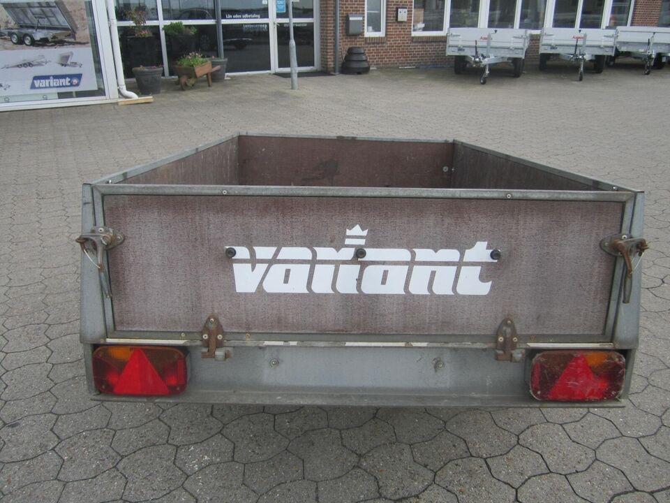 Trailer Variant 502dt2, lastevne (kg): Variant 502dt2