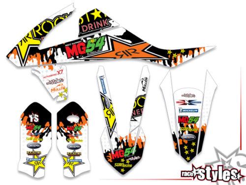 Ktm sxf EXC XC 85 125 250 300 350 450 500 MX Decals decoración Grafiche Graphique Kit
