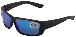 37b4157c3c Costa Del Mar Cat Cay Sunglasses AT-01-OBMGLP Black  580G Blue ...