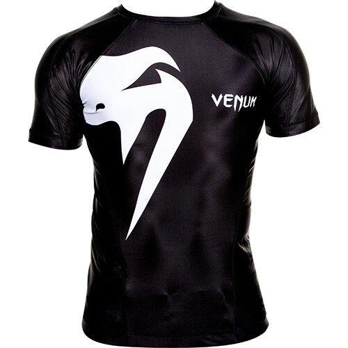 Venum  Giant  Rashguard Rashguard Rashguard - Short sleeves - schwarz MMA UFC Hayabusa Shirt  | Angemessener Preis  | König der Quantität  | Zürich  711b3b