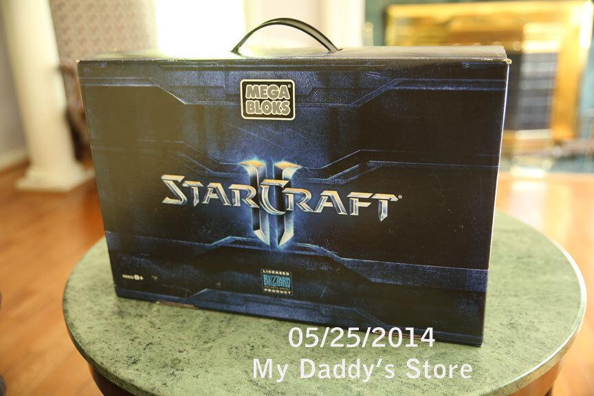 Starcraft II Mega Bloks BlizzCon 2011 Exclusive Limited Edition Battlecruiser