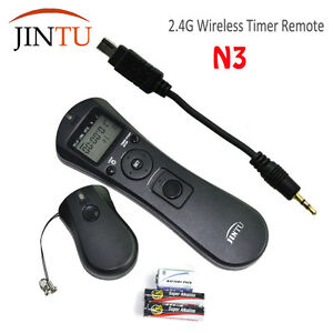JINTU-Timer-Remote-Shutter-Release-Cord-N3-For-Nikon-DF-D750-D610-D600-D90-D5500