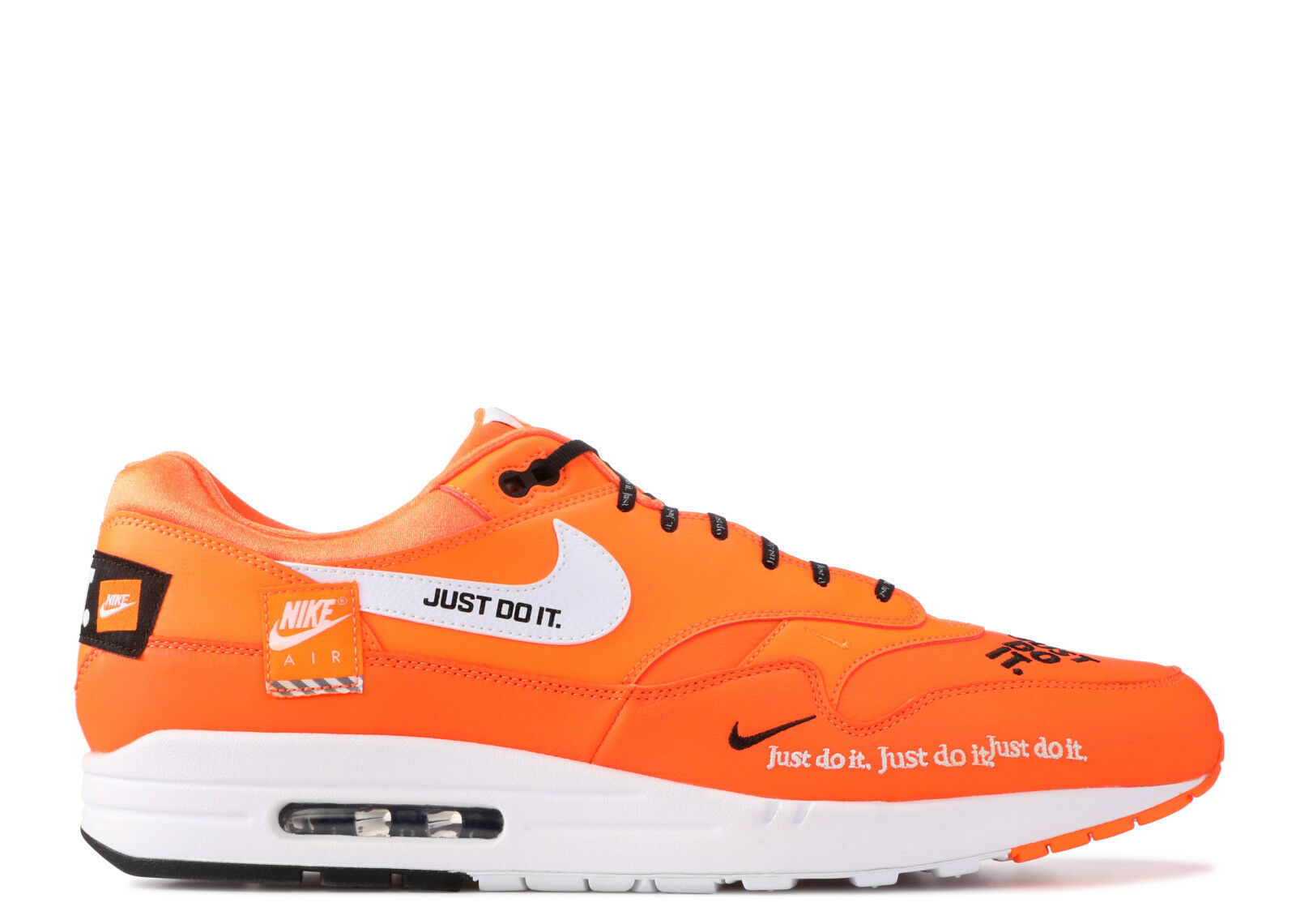 {AO1021-800} Mens Nike Air Max 1 SE Orange Just Do It Collection