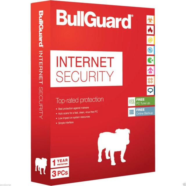 Bullguard Internet Security 3 PC 2 ANNI (win10) sia installazione che rinnovo
