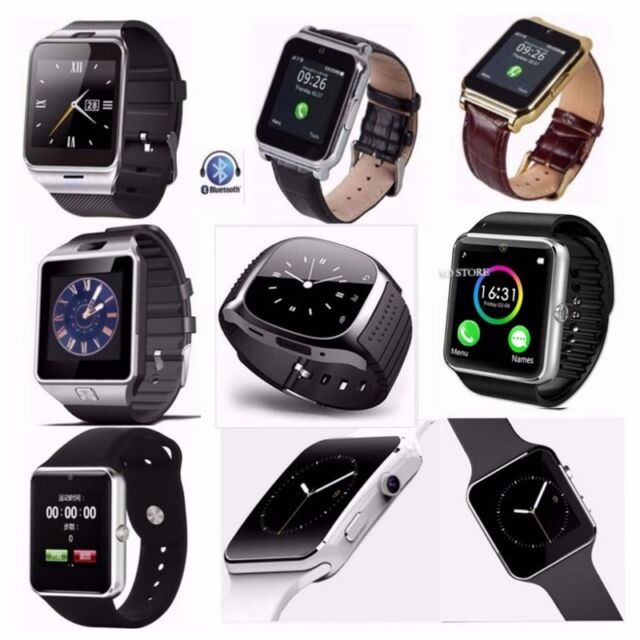 Women Mens Sport Business Smartwatch Bluetooth Wrist Smart Watch For Android IOS