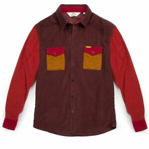 NEW-MEN-039-S-WRANGLER-by-PETER-MAX-OVERSHIRT-CORDS-REAL-VINATGE-RETRO-S-M-L-XL