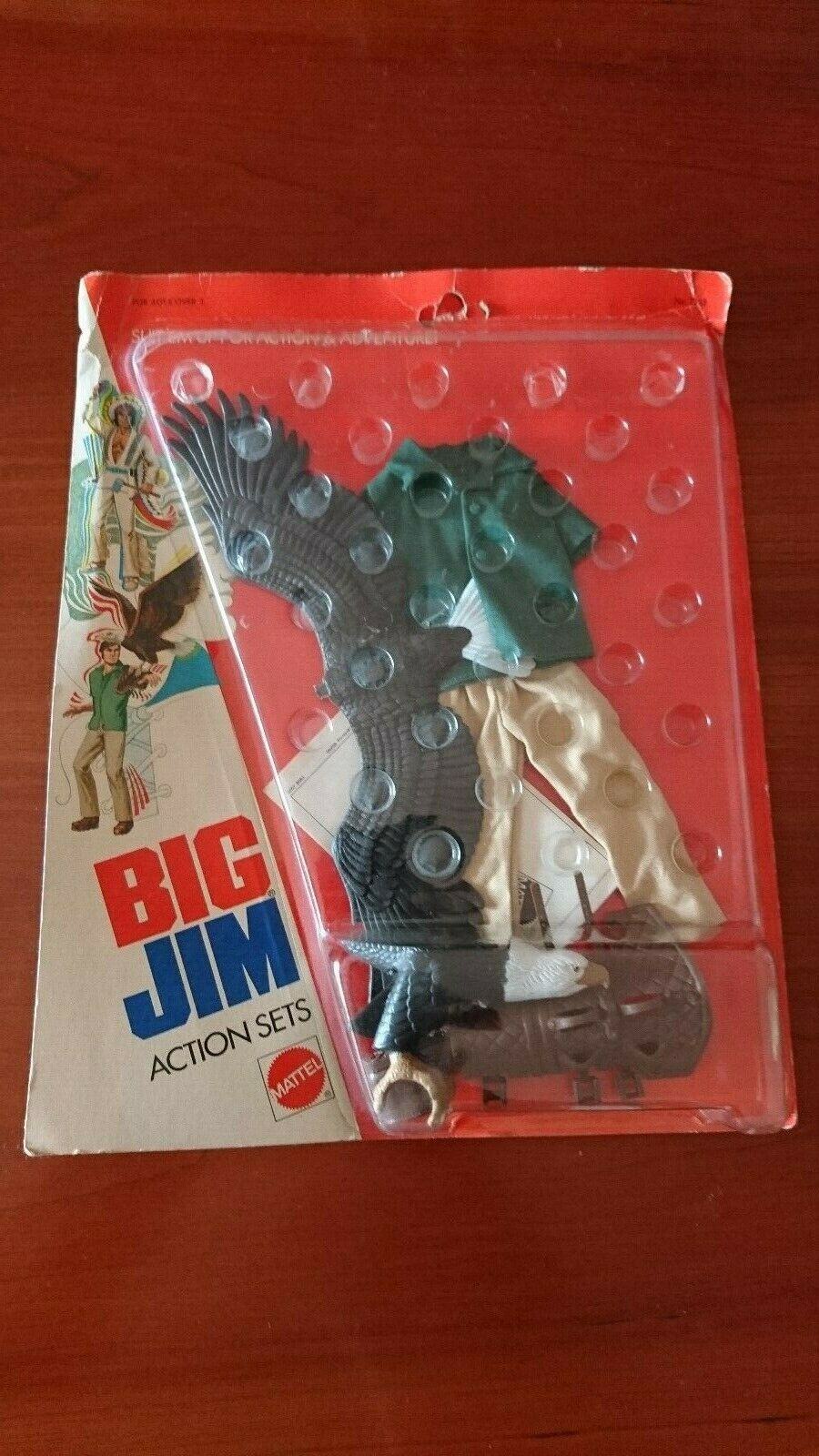 BIG JIM MATTEL ADVENTURE SET OUTFIT   7308 EAGLE RANGER SEALED & CARDED BUONO