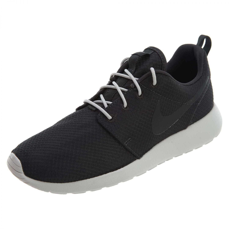 Men's Nike Roshe One Running Shoes Black/Grey Sizes 8-12 New In Box 511881-033