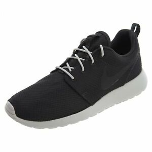 b91a5dc741d50 Men's Nike Roshe One Running Shoes Black/Grey Sizes 8-12 New In Box ...