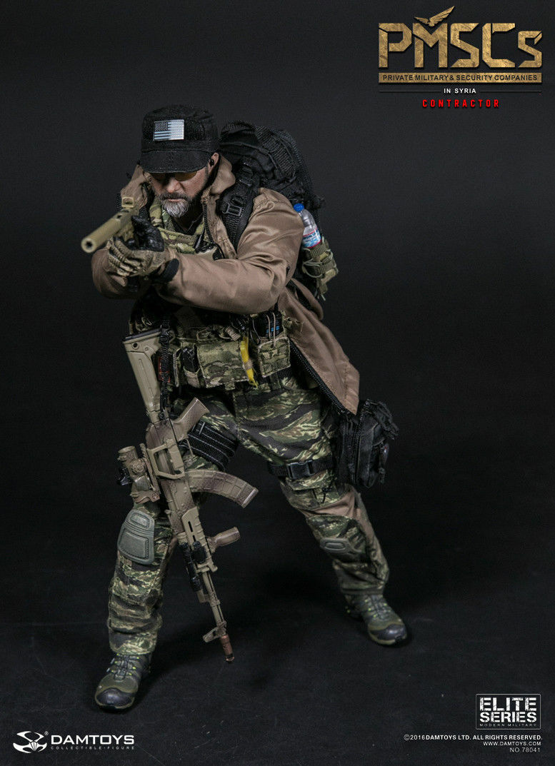 DAMTOYS 1 6 Scale 78041 PMSCs CONTRACTOR IN SYRIA Action Figure Toy Model
