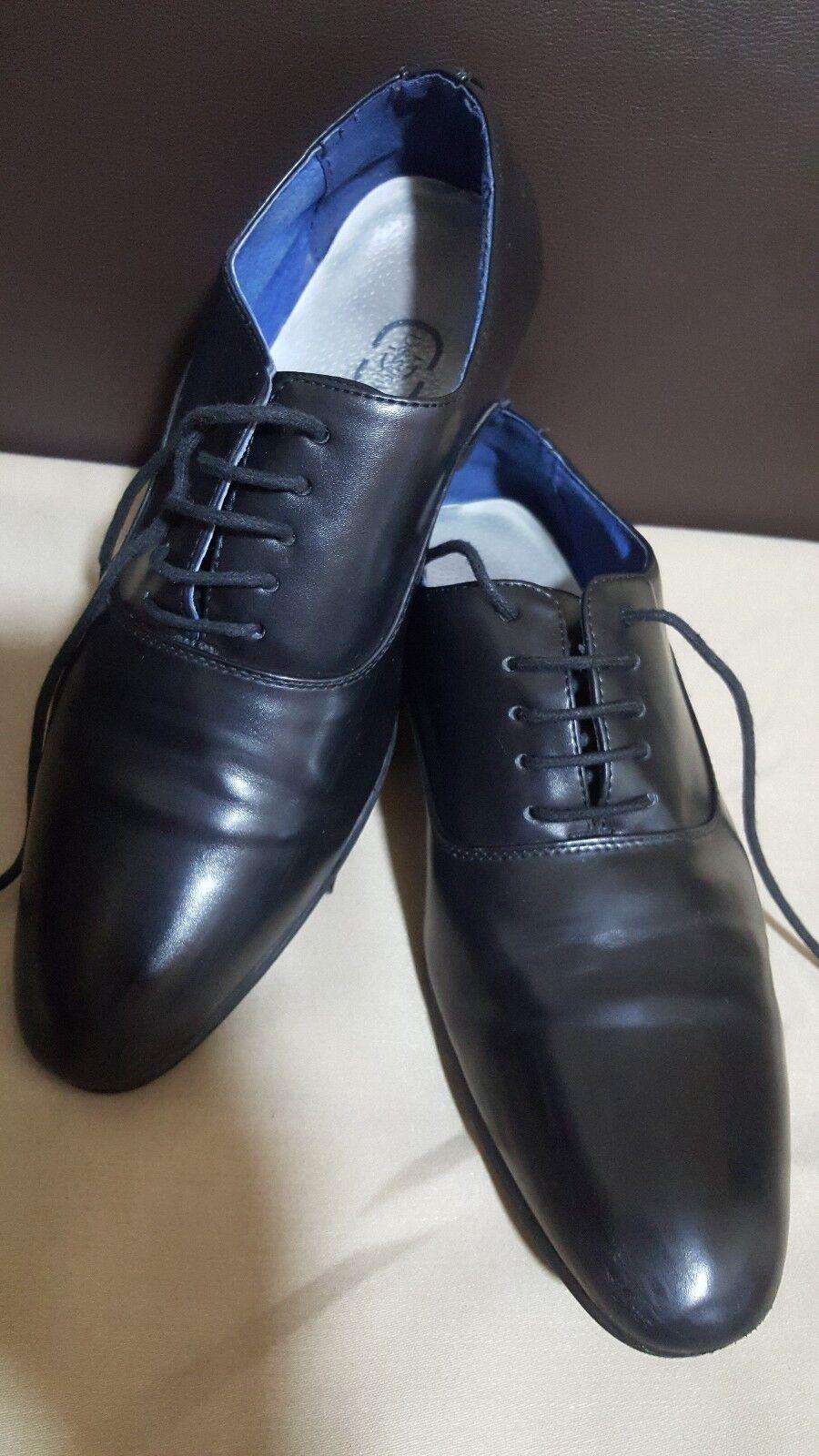 DESTINY Black Soft shoes Leather Men's shoes Soft -size / 713a7a