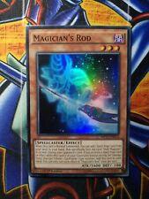 YUGIOH CARD Super Rare 1st Edition MP17-EN074 MAGICIAN/'S  ROD