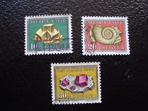 Switzerland-Stamp-Yvert-and-Tellier-N-607-A-609-Obl-A1-Stamp-Switzerland-E