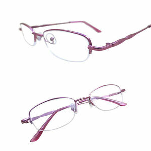 Details about Reading Glasses Women Resin Coating Half-frame Fashion  Reading glasses 1 0~4 0 J