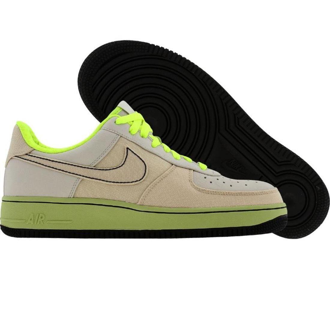 315180-002 Nike Air Force 1 07 Low Premium Bone Voltage