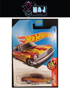 Hot-Wheels-Super-Treasure-Hunt-039-63-Chevy-II-7-10-Rare-Sealed-Aussie-Seller
