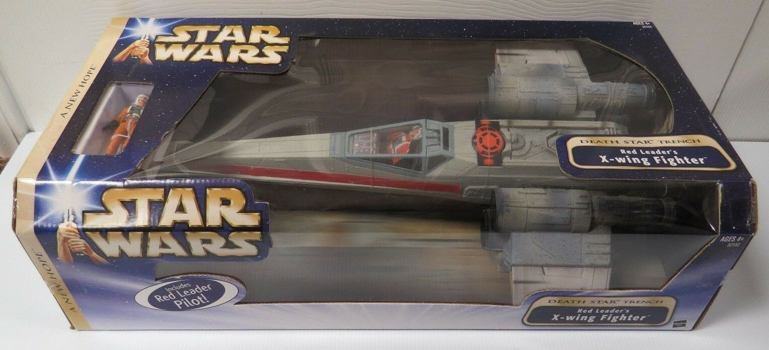 STAR WARS RED LEADER X-WING FIGHTER SEALED LEGACY COLLECTION NEW HOPE 2004