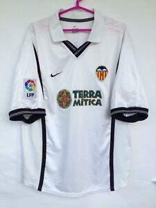 60e5e623f A imagem está carregando Valencia-2000-2001-Nike-Home-Futebol-Camisa-Jersey-