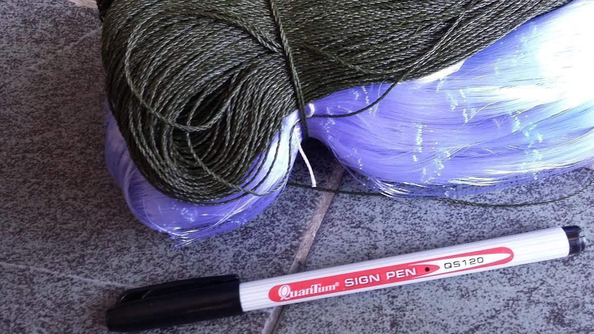 GILL NET 20 metres,  4cm mesh mesh mesh Größe  2.5 ft depth   POST FREE .. 76bb4c