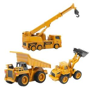 Remote Control Excavator Truck Digger Toy Rc Crane Mini Construction