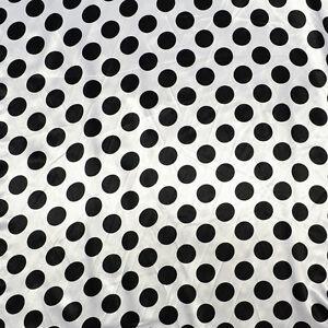 "Organza with Polka Dot Flocking Fabric 58/"" wide 2 Yard Lot Purple and Fuchsia"