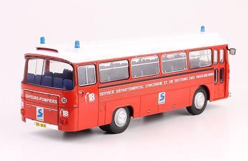 Bus Saviem Sc5 Deux-sèvres 1//43 fire truck miniature diecast